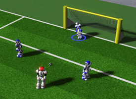 Simulation League Soccer 3D